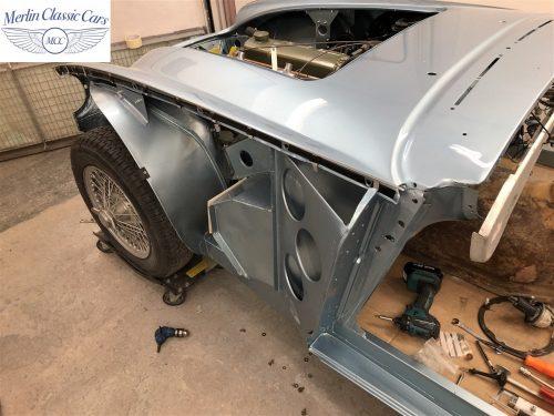 Austin Healey BJ7 Currently Under Restoration 64