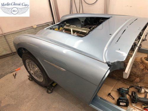 Austin Healey BJ7 Currently Under Restoration 65