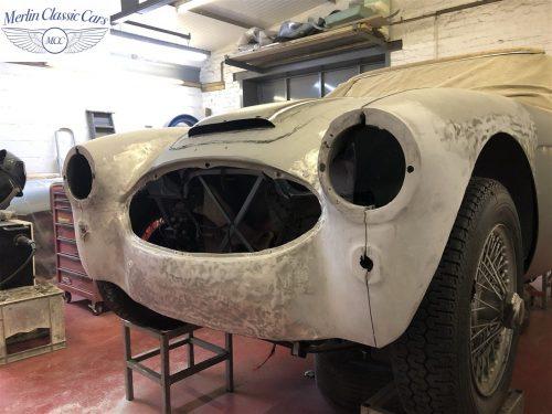 Austin Healey BJ7 Currently Under Restoration 7