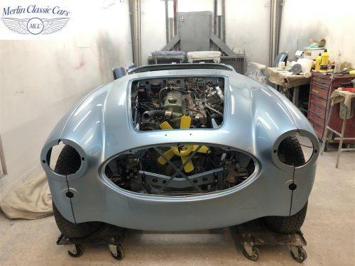 Austin Healey BJ7 Currently Under Restoration 71