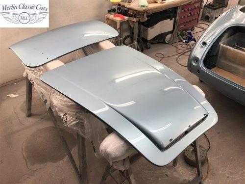 Austin Healey BJ7 Currently Under Restoration 73