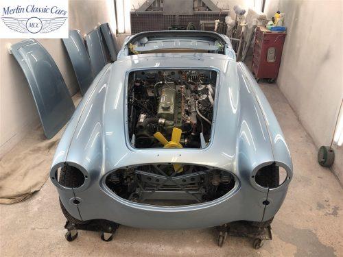 Austin Healey BJ7 Currently Under Restoration 75
