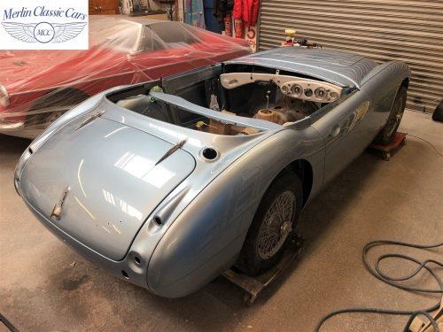 Austin Healey BJ7 Currently Under Restoration 78