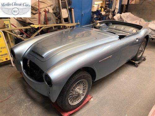 Austin Healey BJ7 Currently Under Restoration 80