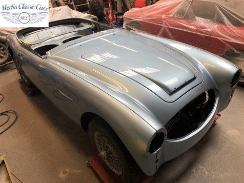 Austin Healey BJ7 Currently Under Restoration 81