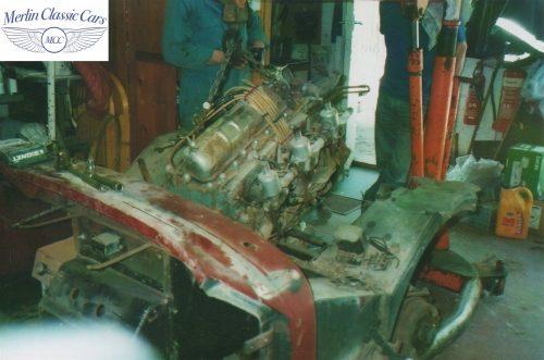 Austin Healey Frogeye Sprite Willy's Jeep Engine 2