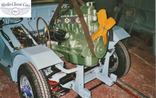 Austin Healey Frogeye Sprite Willy's Jeep Engine 3