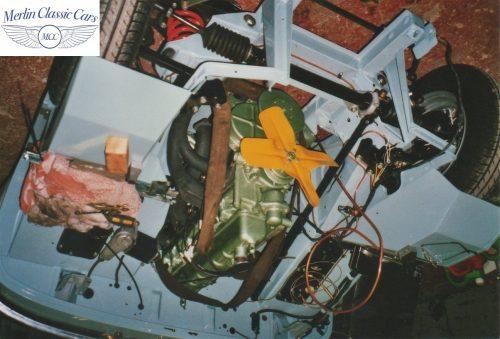 Austin Healey Frogeye Sprite Willy's Jeep Engine 5