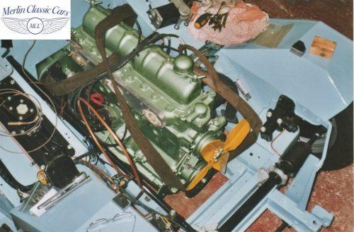 Austin Healey Frogeye Sprite Willy's Jeep Engine 8