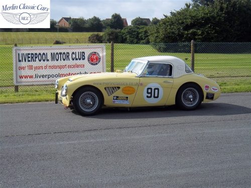 Austin Healey Race Car Restoration 1