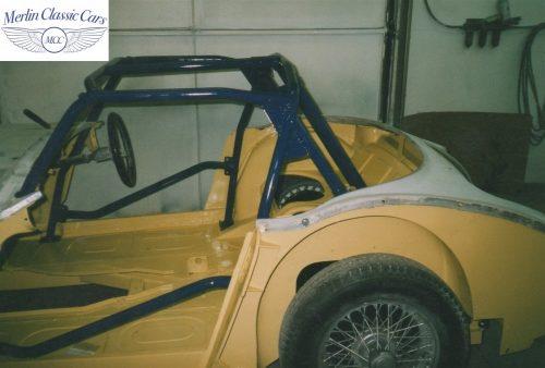 Austin Healey Race Car Restoration 18