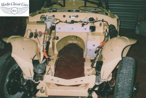 Austin Healey Race Car Restoration 21