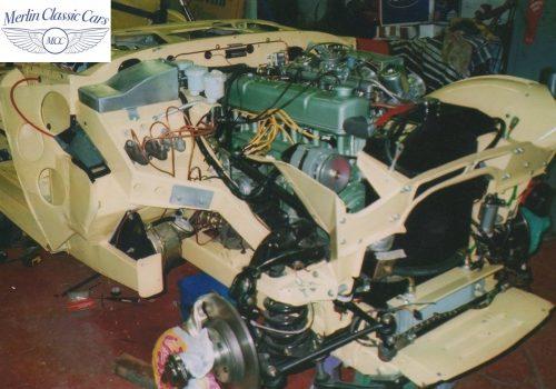Austin Healey Race Car Restoration 22