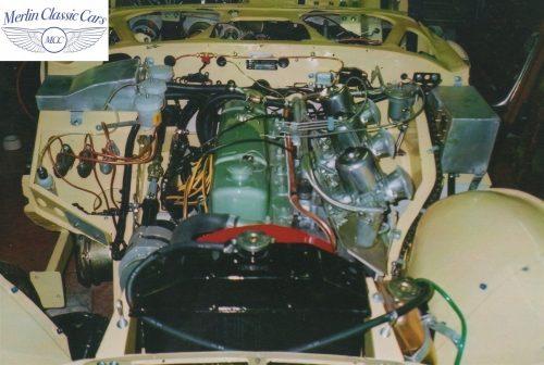 Austin Healey Race Car Restoration 23
