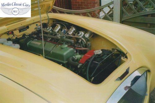 Austin Healey Race Car Restoration 24