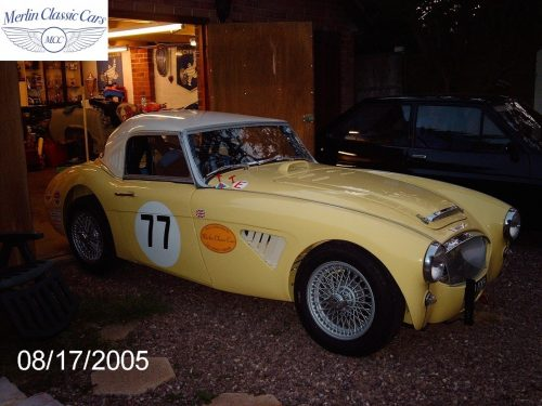 Austin Healey Race Car Restoration 40
