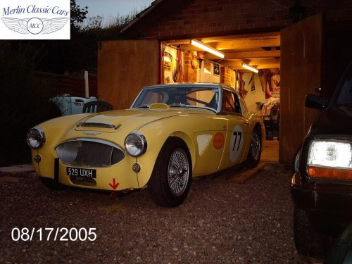 Austin Healey Race Car Restoration 41