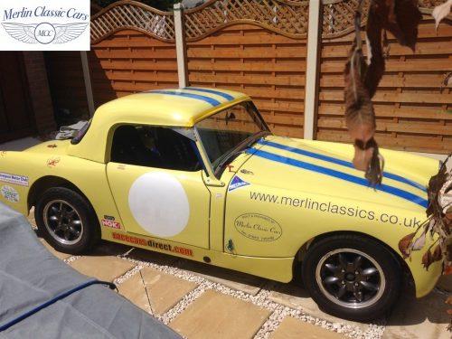 Austin Healey Sprite Race Car (11)