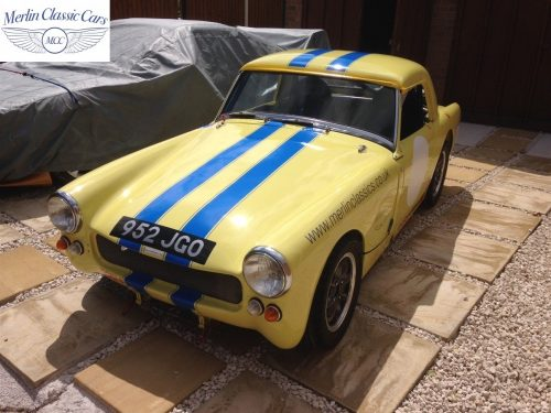 Austin Healey Sprite Race Car (13)