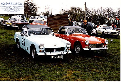 Austin Healey Sprite Race Car (7)