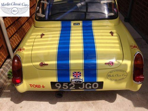 Austin Healey Sprite Race Car (9)