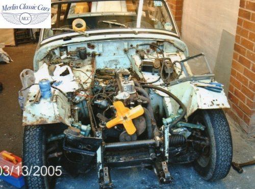 Austin Healey Sprite Race Car Restoration (1)