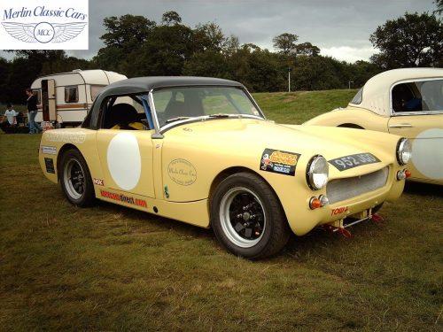 Austin Healey Sprite Race Car Restoration (15)