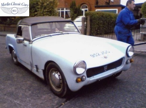 Austin Healey Sprite Race Car Restoration (2)