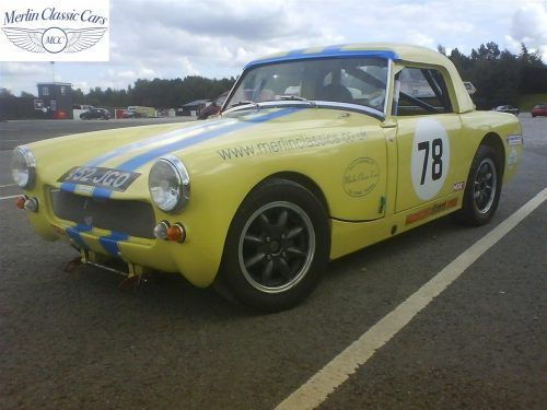Austin Healey Sprite Race Car Restoration (29)