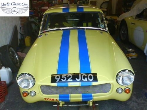 Austin Healey Sprite Race Car Restoration (32)