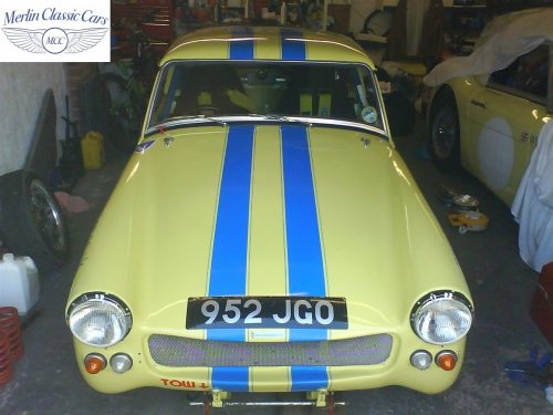 Austin Healey Sprite Race Car Restoration (33)