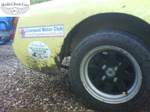 Austin Healey Sprite Race Car Restoration (35)