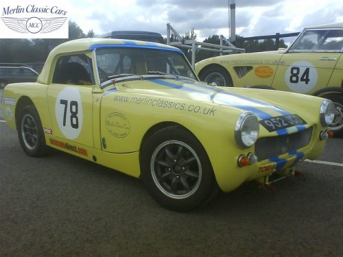 Austin Healey Sprite Race Car Restoration (37)