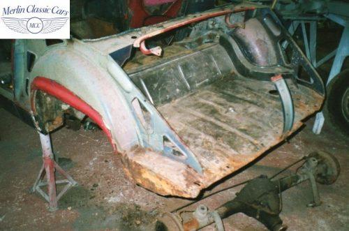 Austin Healey Sprite Race Car Restoration (4)
