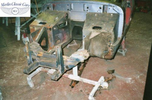 Austin Healey Sprite Race Car Restoration (5)
