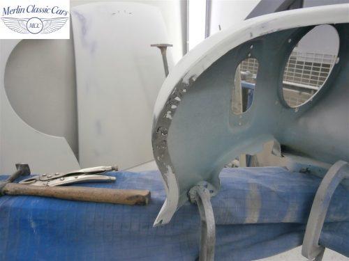 Austin Healey Sprite Restoration Concours Spec 103