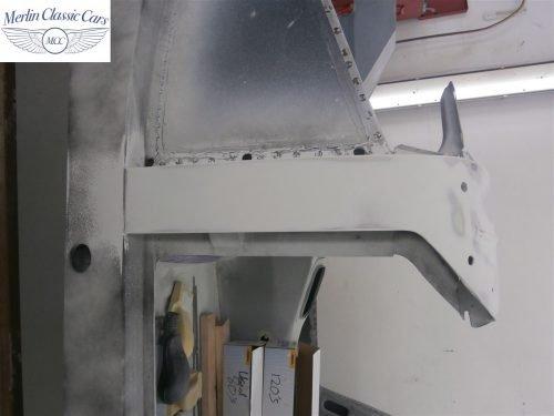 Austin Healey Sprite Restoration Concours Spec 108