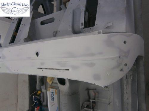 Austin Healey Sprite Restoration Concours Spec 111