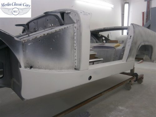 Austin Healey Sprite Restoration Concours Spec 112