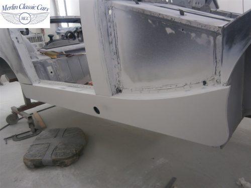 Austin Healey Sprite Restoration Concours Spec 117
