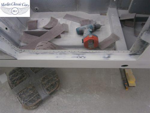 Austin Healey Sprite Restoration Concours Spec 118