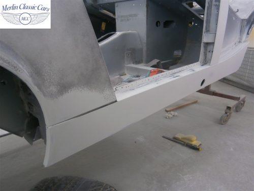 Austin Healey Sprite Restoration Concours Spec 120