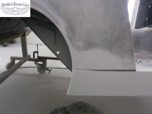 Austin Healey Sprite Restoration Concours Spec 121