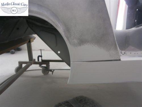 Austin Healey Sprite Restoration Concours Spec 122