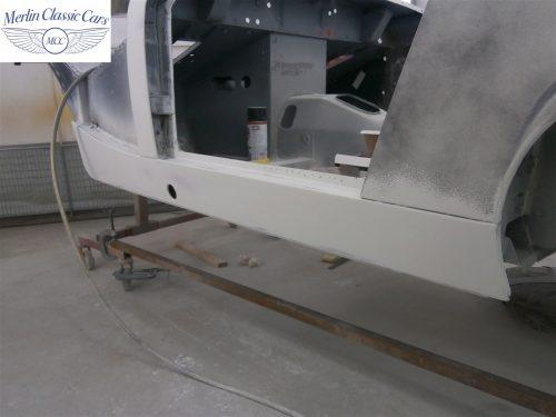 Austin Healey Sprite Restoration Concours Spec 123