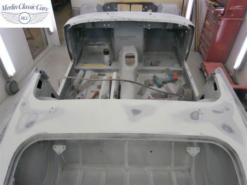 Austin Healey Sprite Restoration Concours Spec 128