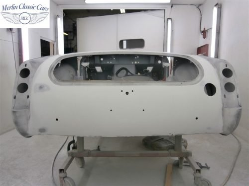 Austin Healey Sprite Restoration Concours Spec 129
