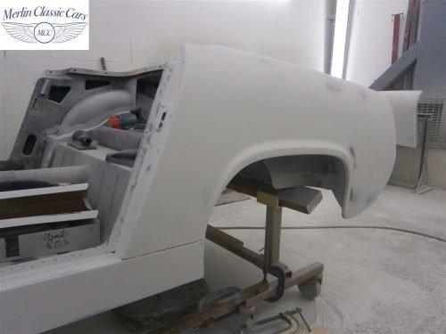 Austin Healey Sprite Restoration Concours Spec 134