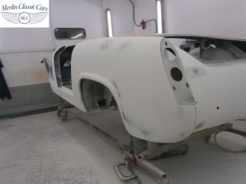Austin Healey Sprite Restoration Concours Spec 135