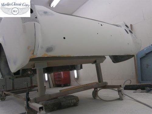 Austin Healey Sprite Restoration Concours Spec 136
